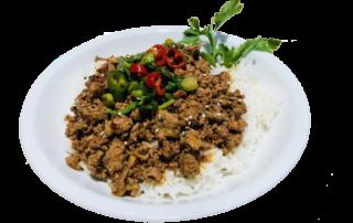 Yezis chinesisches Restaurant in Kassel authentisch chinesisch essen Gehacktes