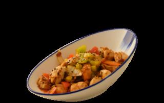 Yezis chinesisches Restaurant in Kassel authentisch chinesisch essen Hünchenbraten